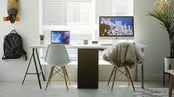 The BEST BUDGET Desk Setup! - 2018