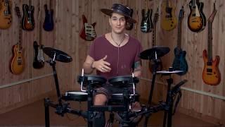 Roland V-Drums TD-1DMK Electronic Drum Set Demo