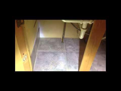 Mark Scheid Repairing My Floor Under Kitchen Cabinet Youtube