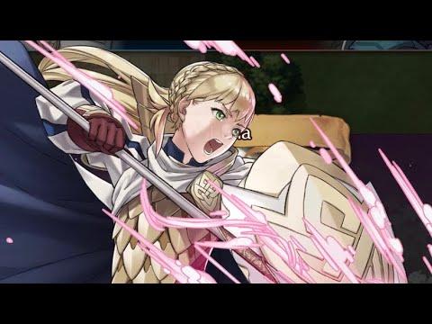 Fire Emblem Heroes - Bound Hero Battle: Alm & Faye - YouTube