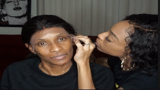 DID I SLAY MY MOMA WIG?? Ft. Premier Lace Wigs