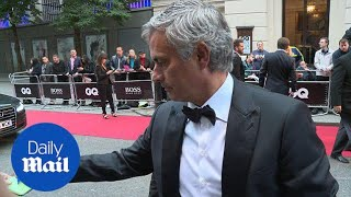 Jose Mourinho looks effortlessly suave at the GQ awards - Daily Mail