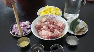 Adobo Baboy Recipe - Pinoy Filipino Pork