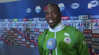 Paul Pogba na afloop van AZ - Sparta