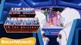 Humans Crash Land on Eternia | HE-MAN AND THE MASTERS OF THE UNIVERSE