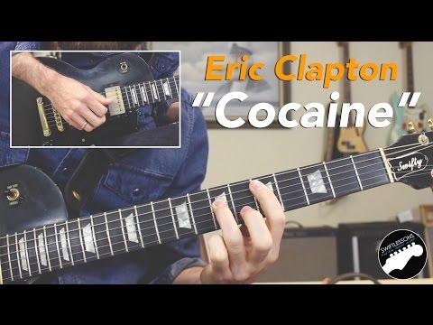 Eric Clapton Cocaine Full Guitar Lesson