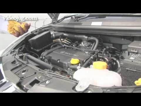 How To Check Car Basics Under The Bonnet - YouTube