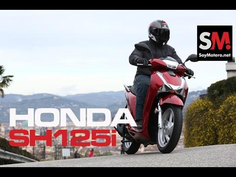 Honda SH125i Scoopy 2017: Prueba Scooter [FULLHD]