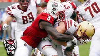 NC State LB Germaine Pratt: Tackling Machine