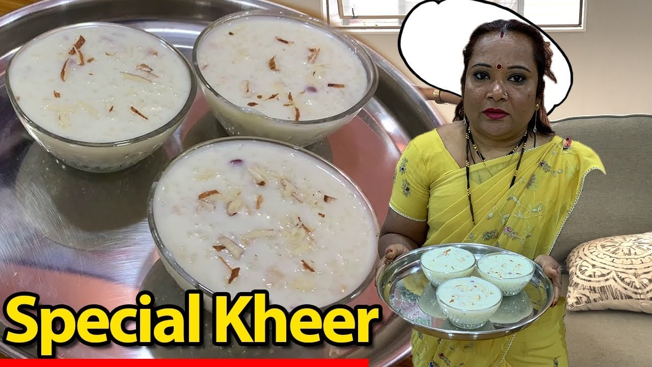 Special Rice Kheer for you || kuch meetha ho jaye || चावल की खीर ||