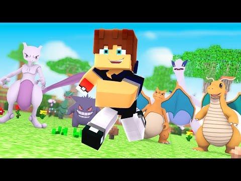 Minecraft: TIME FORMADO! (Pokemon...