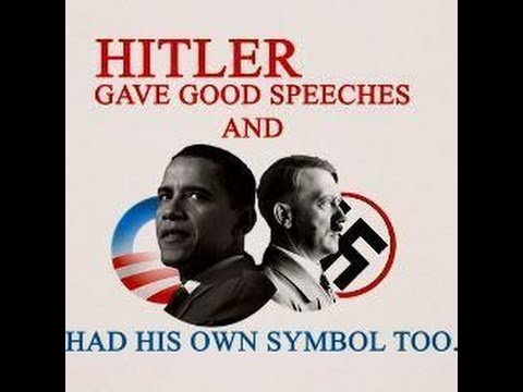 the Spirit of Adolf Hitler rests on Barak Hussein Obama