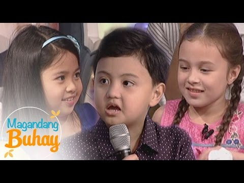 Magandang Buhay: Krystal, Myel and Alonzo give sweet Christmas messages to their parents