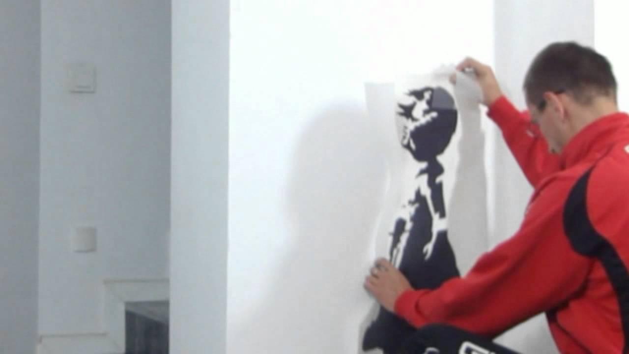 Banksy Balloon Girl Naklejka Scienna Szablon Malarski Na Sciane