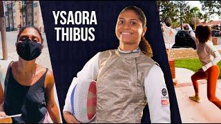 Ysaora Thibus on lockdown and her fencing career