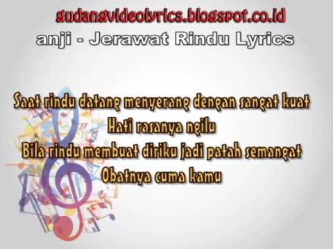 Anji   Jerawat Rindu Official Lyric Video
