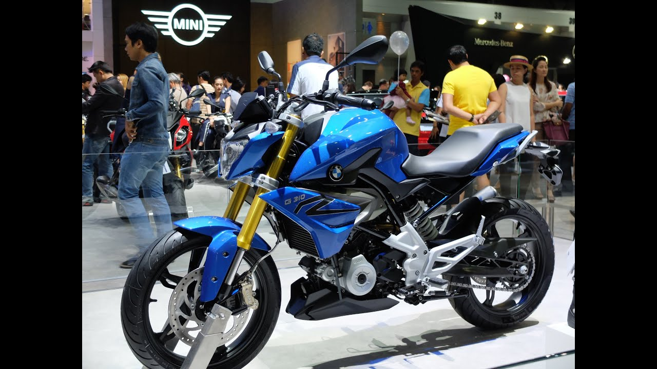 2016 New BMW G310R AT MOTOR EXPO 2015  YouTube