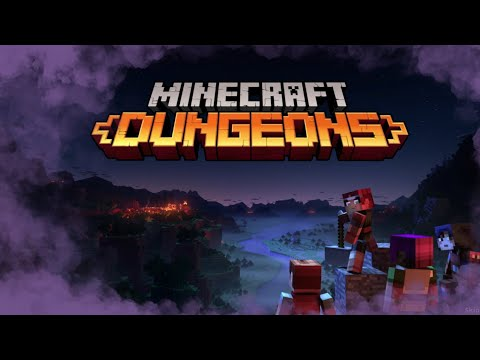 The NEW Minecraft dungeons game!  //  Mystery Fridays |
