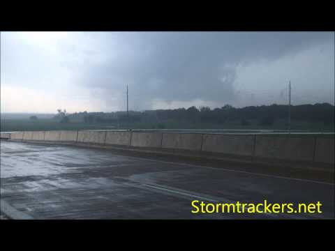Tornado Shawnee Oklahoma 5/19/13 (Camera 2) EF-4