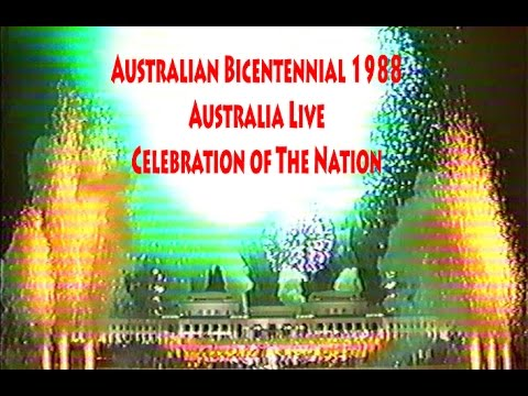 Australian bicentennial 1988 fireworks old parliament for Classic house music 1988