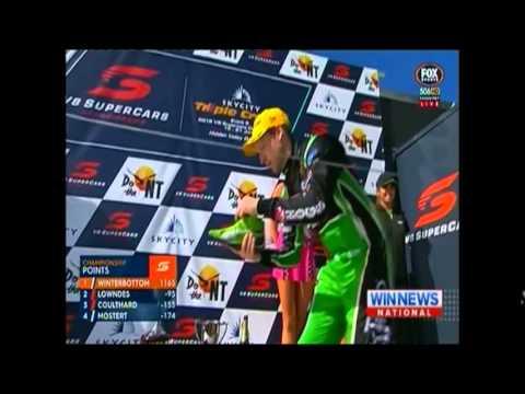 2015 V8 Supercars Race 15  Darwin  David Reynolds NINE News Report