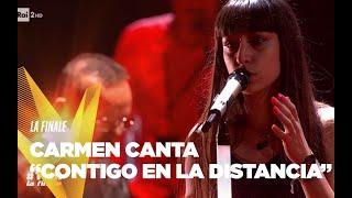 """Carmen Pierri  """"Contigo en la distancia"""" - Finale - The Voice Of Italy 2019"""