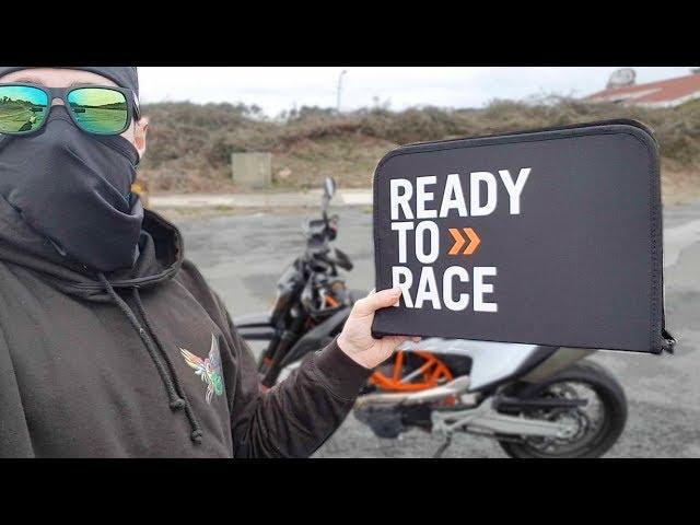 LA VALISE SECRETE DE KTM - Unboxing ! 💼✅