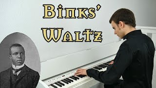 Binks' Waltz (1905) - Scott Joplin | Piano