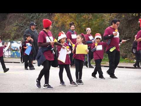 Echo Park Community Parade-Camino Nuevo Charter Academy-bell ringing-2019