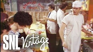 The Olympia Restaurant with Buck Henry - SNL