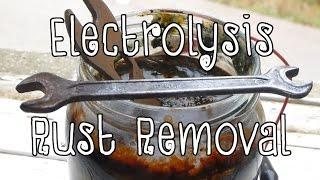 Electrolysis Rust Removal - Diy Tutorial