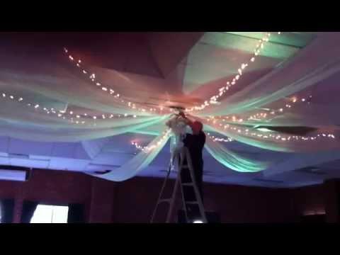 Bent Philipson | Wedding Ceiling Drapes