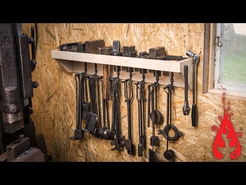 Blacksmith shop makeover & forging hooks