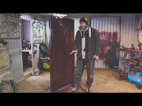 Металлические двери своими руками обзор