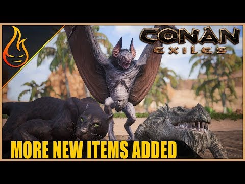 Conan Exiles New Library Of Esoteric Artifact Items PTR Content