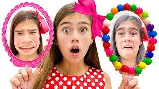 나스티아는 디스코에 가고 싶어, 어린이를위한 재미있는 동영상 모음