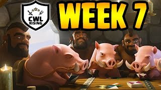 Clash of Clans: CWLR Week 7 PREDICTIONS & DISCUSSION