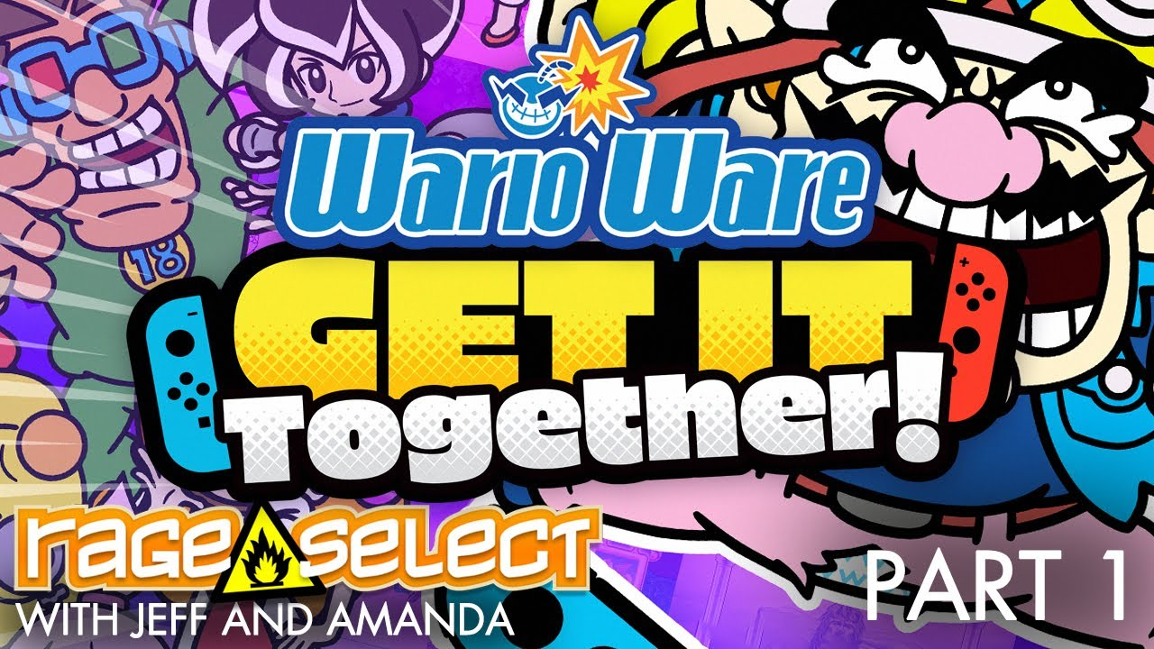 WarioWare: Get It Together! (The Dojo) Let's Play - Part 1
