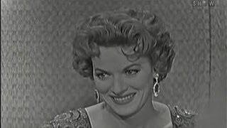 What's My Line? - Maureen O' Hara; Martin Gabel [panel] (Dec 27, 1959)