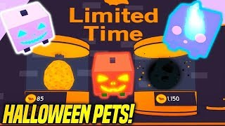 Roblox : Update 8 Halloween Pet Simulator (Kids Friendly) Join Us!
