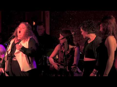Shawna Hamic with Alyssa DiPalma, Rachel Tucker & Dawn Cantwell -