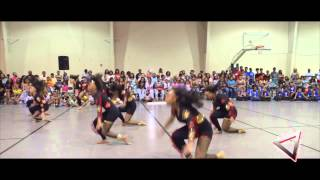 Holly Springs Mississippi hot steppers team 3 opens up for Dancing Dolls For Life DD4L