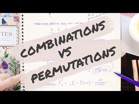 Combinations vs Permutations - Math Hacks - Medium