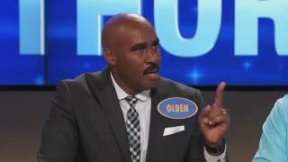 Steve Harvey Meets Look-Alike On 'Family Feud'