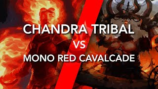Chandra Tribal VS Mono Red Cavalcade | MTG Arena Gameplay