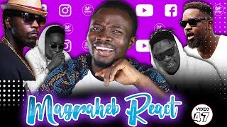 Magraheb Reacts to Kwaw Kese DONDO ft Sarkodie, Medikal, Mr Eazy & Skonti