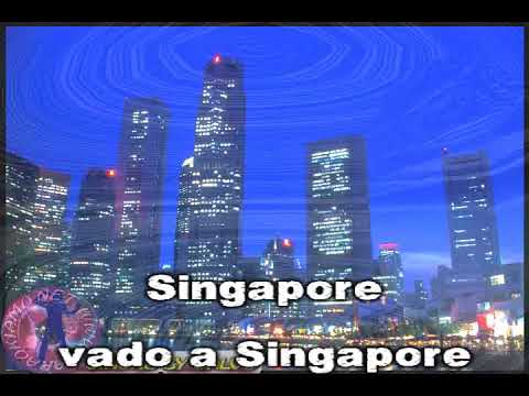 Renato Pareti - Singapore (con cori) (karaoke - fair use)