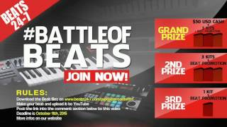Hip Hop Rap Beat Making Contest 2015 VOL.2 for Producers | Win Cash and Prizes | BEATS24-7.COM