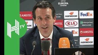 Unai Emery: We want Europa League AND top four!