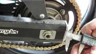 """How To"" change the Sprockets and Chain on a DL650 V-Strom"
